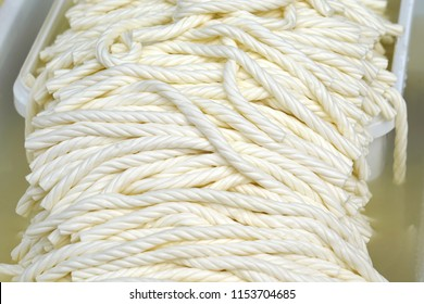 Turkish Knitting Cheese or  rope cheese.