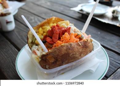 Turkish Kumpir Potato