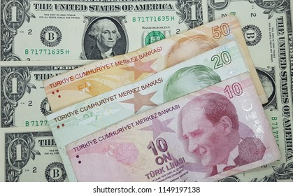 Turkish lira USA Dollar