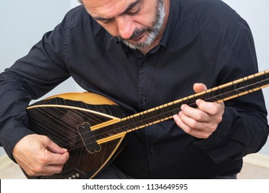Turkish musical instrument – Baglama. Baglama is the most commonly used string folk instrument in Turkey.  May 2018 Istanbul-Turkey