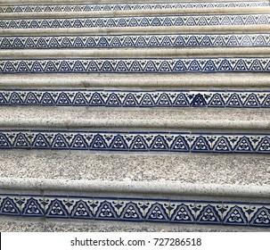 Turkish pattern stairs