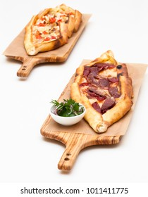 Turkish Pide with Sucuk