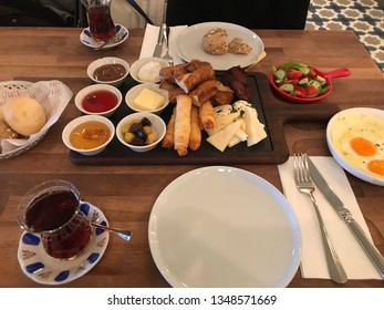 "Turkish Ramadan breakfast also Ramadan ""Sahur"". It is an Islamic term. This meal consumed early in the morning before start fasting."