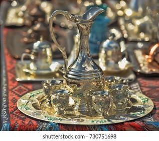 Turkish souvenir cups