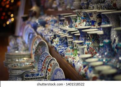 Turkish souvenir. Oriental souvenir shop.