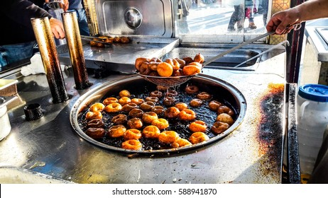 Turkish Street Dessert Lokma