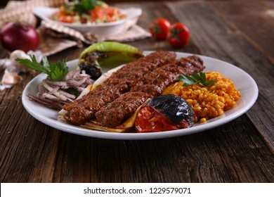 Turkish style kebab