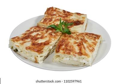 Turkish Su Boregi / Tabla borek or burek