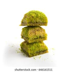 Turkish sweet baklava.