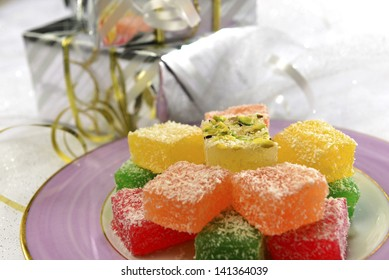 Turkish sweet and gift boxes