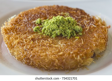 Turkish sweet kunefe
