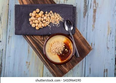 Turkish sweet rice pudding sutlac