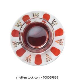 Turkish Tea from Above