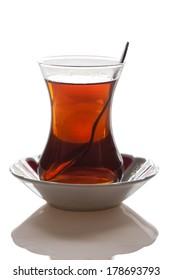 turkish tea with two sugar