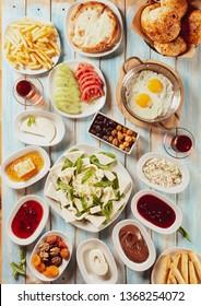Turkish Traditional Breakfast