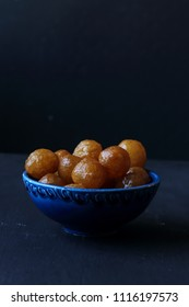 Turkish traditional dessert lokma