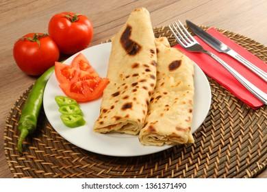 Gözleme - Turkish Traditional Pancake