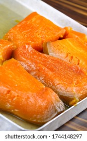 Turkish Traditional Pumpkin Dessert ( Kabak Tatlisi )