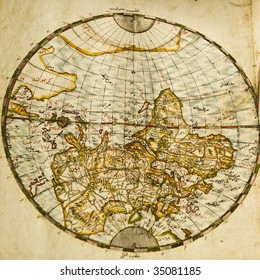 A Turkish translation of an atlas published between 1662 and 1672 by Johann Blaeu, a famous printer from Amsterdam. Printed in ink, gold and watercolour on paper.