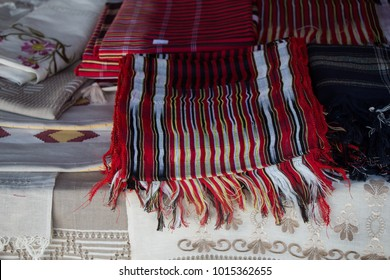 Turksih traditional woman scarf with some embroidery