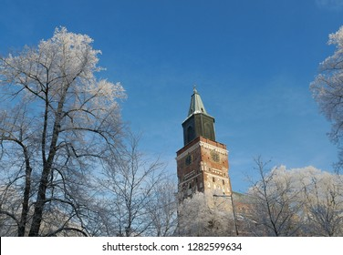 Turku Cathedral in the winter