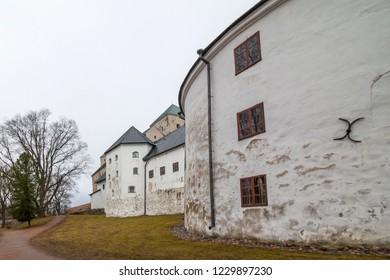 Turku, Finland - 2 April 2016: Turku Castle in Finland on a summer day.