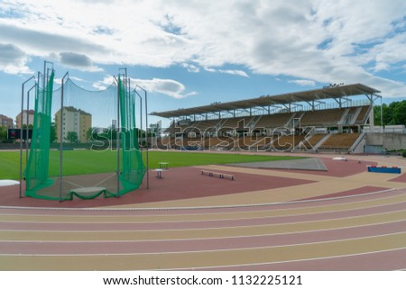 5935d06e53ec TURKU FINLAND 872018 Paavo Nurmi Stadium Stock Photo (Edit Now ...