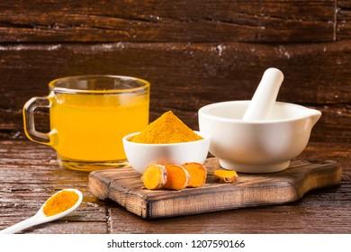 Turmeric healthy drink - Curcuma longa