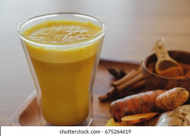 Turmeric latte, Golden milk, Turmeric milk, healthy hipster drink