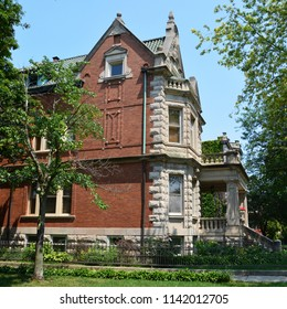 Turn of the Century mansion located on one of Chicago's historic boulevards in the Logan Square neighborhood.