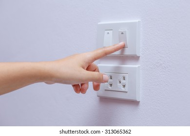 turn off switch for save energy