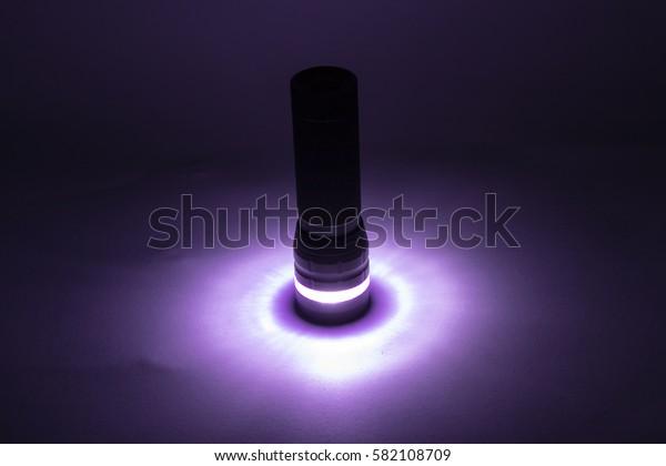 Turn on  the flashlight
