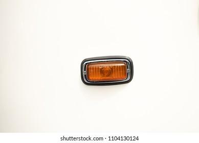 Turn signal of a vintage car