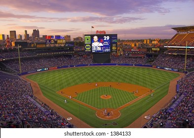 Turner Field, home of the Braves