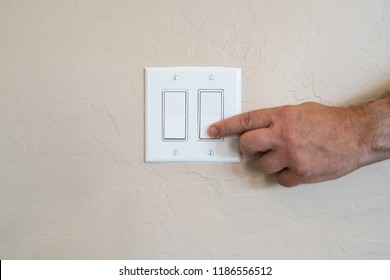 Turning off wall switch