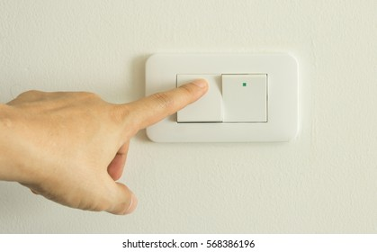 Turning on off light switch
