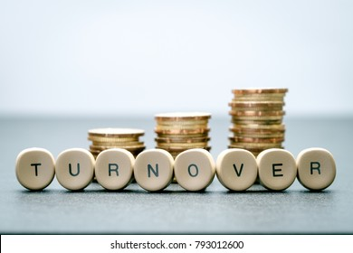 TURNOVER business concept.