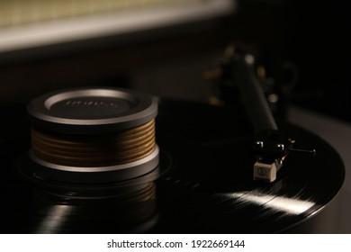 Turntable, LP. LP Vinyl, MM MC cartridge