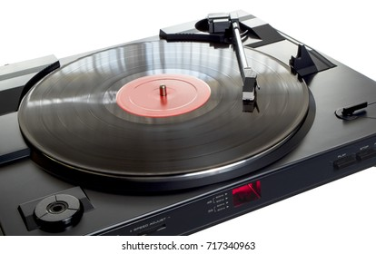 Turntable on withe Background