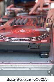 Turntable Scratching Equipment for Techno Party Music