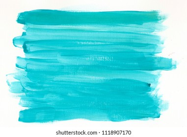 Turquoise acrylic background