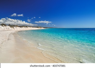 Turquoise bay in Cape range National Park near Exmouth, Western Australia
