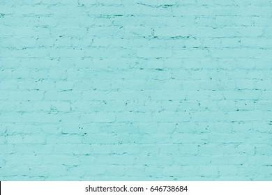 turquoise bricks background