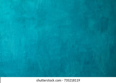 turquoise cement or concrete wall texture and background seamless  - Shutterstock ID 735218119