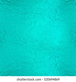 Turquoise Cyan Foil texture background