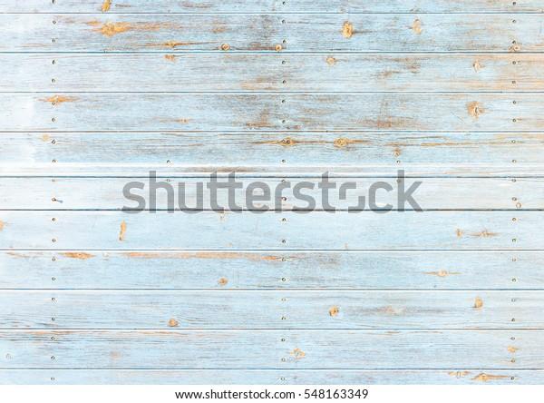 Azzurro Turchese Tavole Di Legno Colorato Trama Di Sfondo