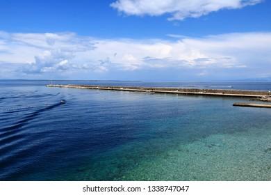 turquoise sea,  Rovenska, island Losinj, Croatia