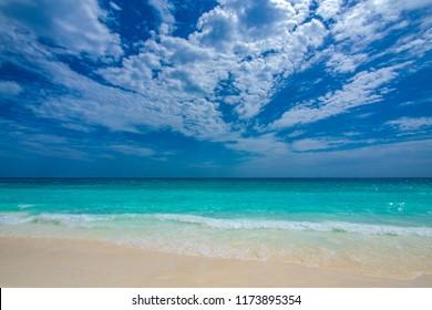 Turquoise Sea Sand Beach