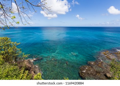 Turquoise waters of the Caribbean Sea