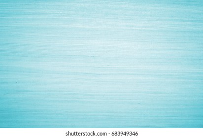 Turquoise wood images texture on blue cyan color background concept Solid  table pattern in light teal pastel bacground, Art plain simple peel wooden floor grain cool oak panel tabletop board.